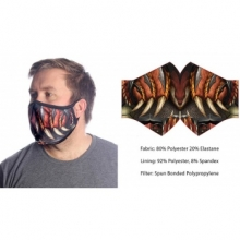 Wild Bangarang Face Mask - DRAGON SLAYER Size M