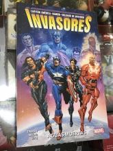 Invasores (Cp América, Namor, Soldado de Invierno): Aguas muertas
