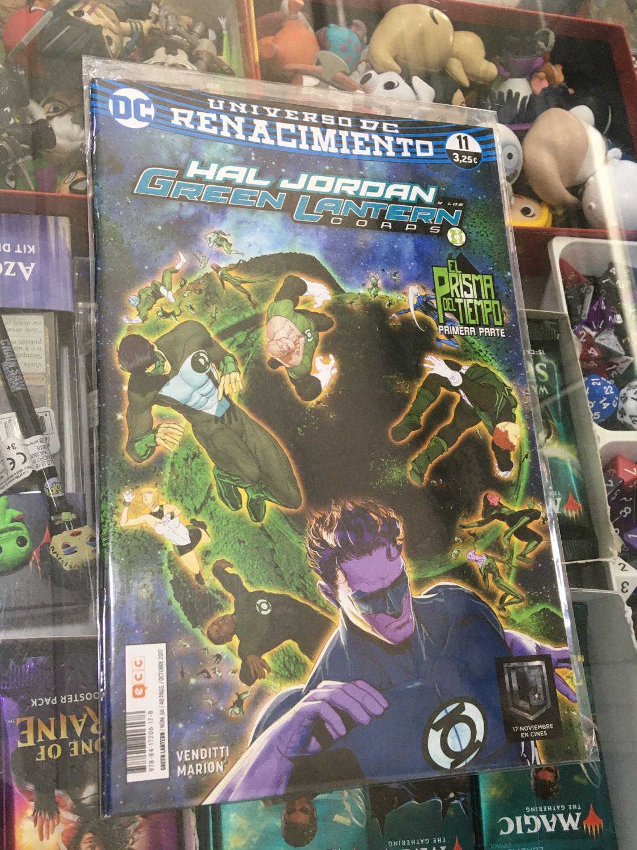 Hal Jordan y los Green Lantern Corps (Renacimiento) 11