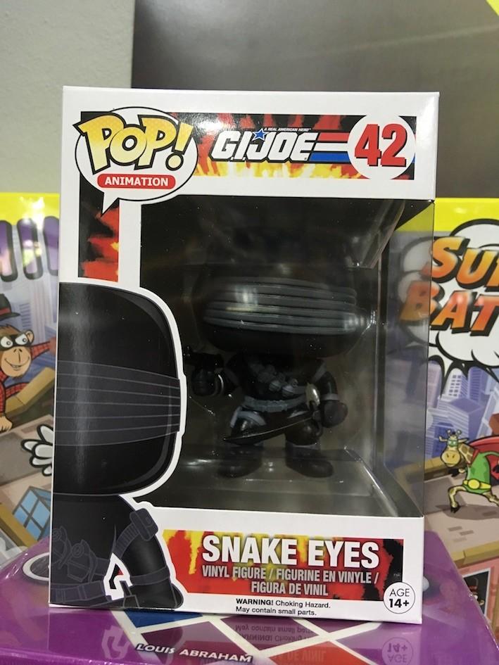 Funko Pop! G.I. Joe: Snake Eyes