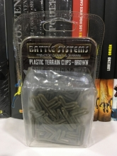 Battle Systems: Plastic Terrain Clips - Brown