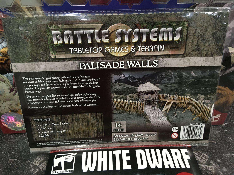 Battle Systems Palisade Walls - EN