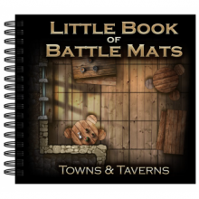 Little Book of Battle Mats - Towns & Taverns Edition - EN