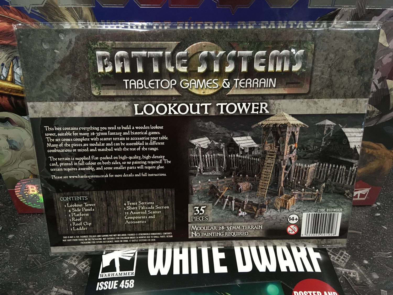 Battle Systems Lookout Tower - EN