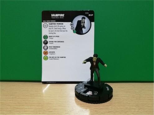 Undead WizKids HeroClix - 006 Vampire