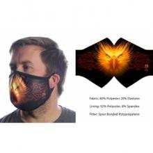 Wild Bangarang Face Mask - PHOENIX Anne Stokes Size L