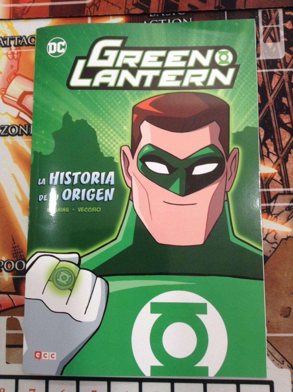 Green Lantern - La historia de su origen