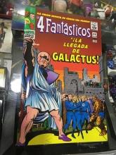 Facsímil: Los Cuatro Fantásticos La llegada de Galactus