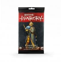 Warcry: Cartas de Sacrosanct Chamber de Stormcast Eternals