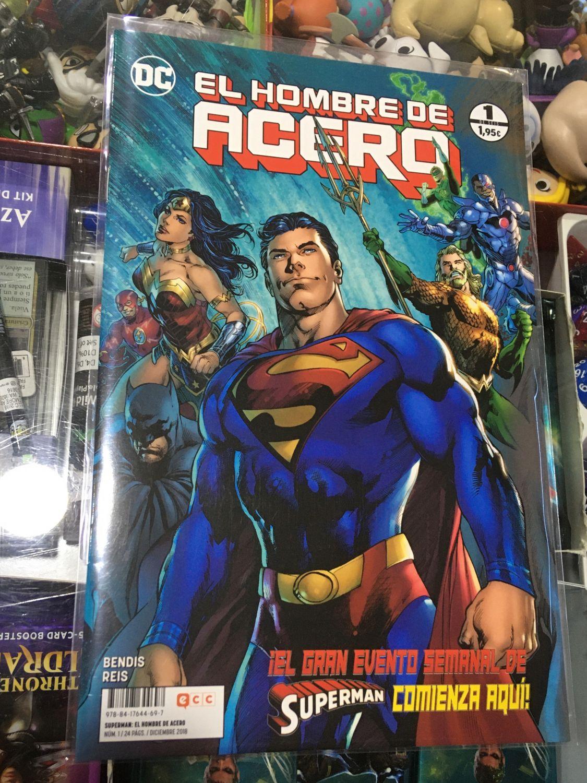 Supermán: El Hombre de Acero 01 (de 06)