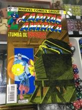 Capitán América: ¡Tumba de sangre! (facsímil)