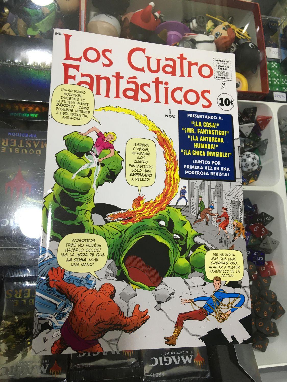 Facsímil: Los Cuatro Fantásticos (nº del 01 de Noviembre)
