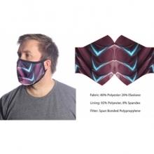 Wild Bangarang Face Mask - RED DRAGON Size M