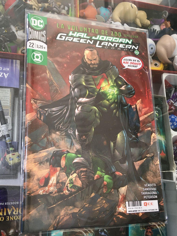 Hal Jordan y los Green Lantern Corps 22