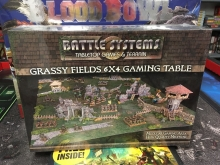 Battle Systems Grassy Fields Gaming Table 180cmx120cm