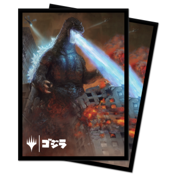 UP - Deck Protector Sleeves - Magic: The Gathering Godzilla, King of the Monsters (100 Sleeves)