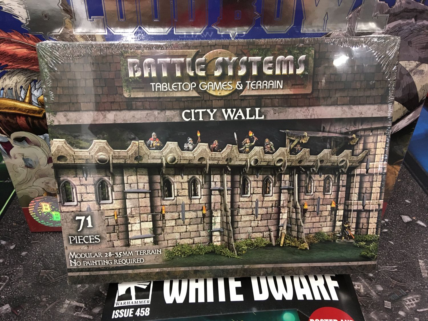Battle Systems City Wall - EN