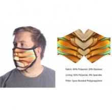 Wild Bangarang Face Mask - YELLOW DRAGON talla M
