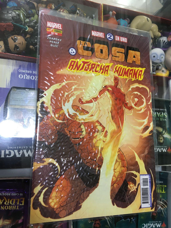 Marvel 2 en 1 - La Cosa y La Antorcha Humana 10