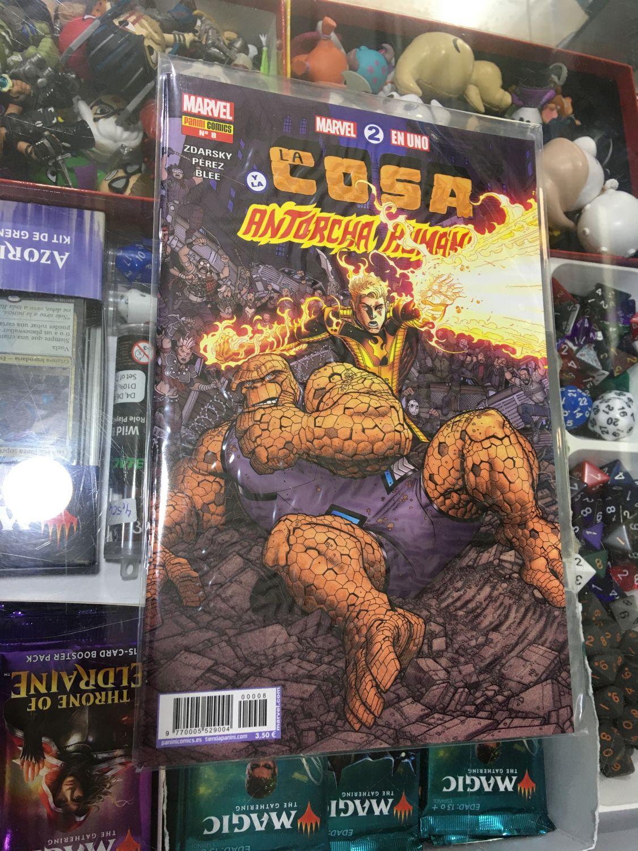 Marvel 2 en 1 - La Cosa y La Antorcha Humana 08