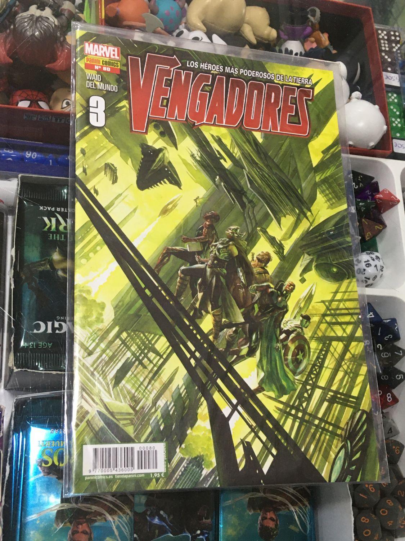Vengadores, Los héroes más poderosos de la Tierra 03 / 80